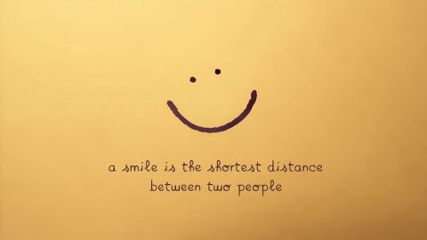 Braving A Smile