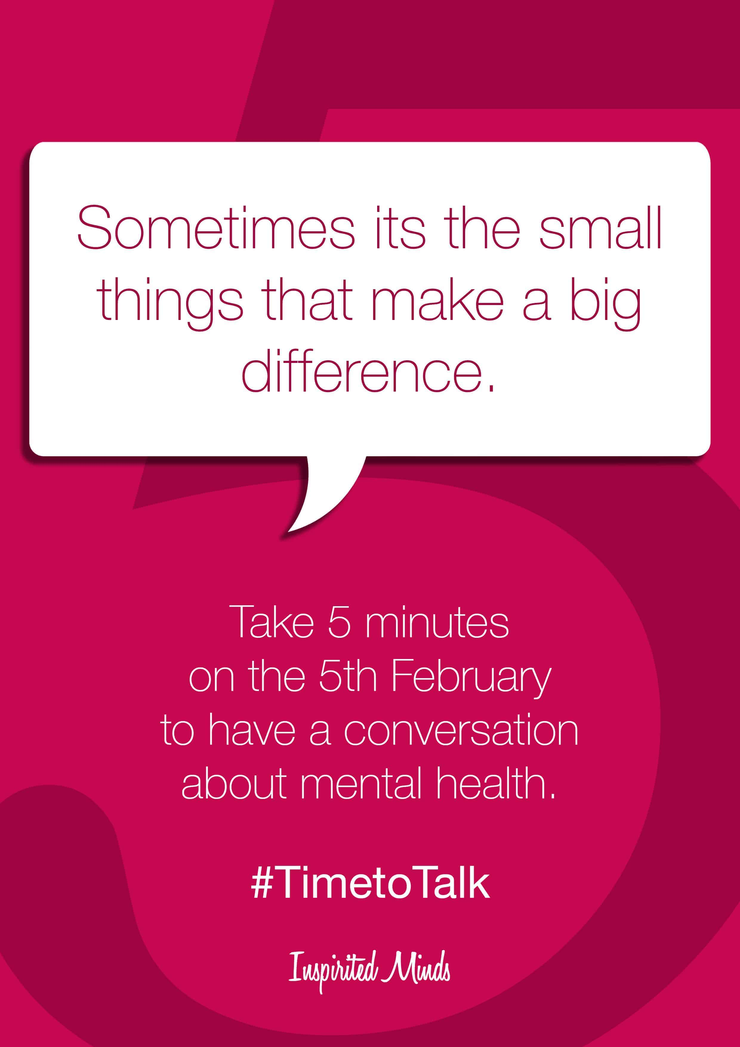 #TimetoTalk