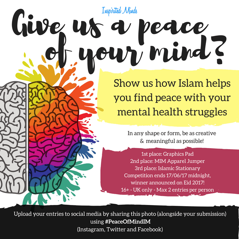 Give us a Peace of Your Mind Creativity Competition