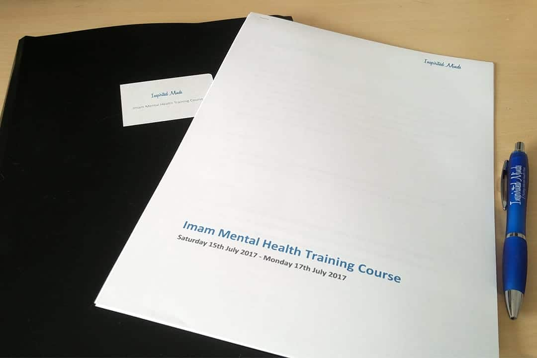 Reflections on our first Mental Health Training with Imams