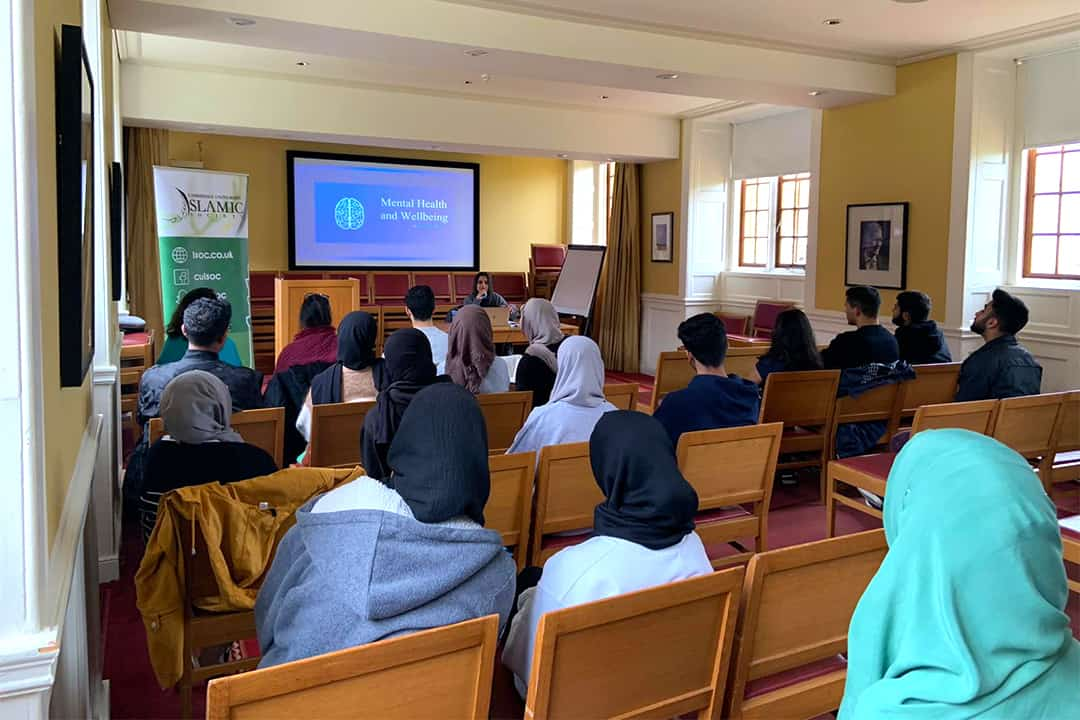 Mental Health & Wellbeing at Cambridge ISoc Review