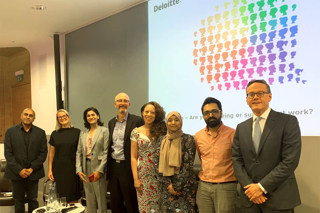 Inclusion – Are you surviving or thriving at work at Deloitte Reflections